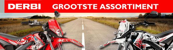 Het grootste Derbi assortiment van nederland op BromfietsShop.nl!