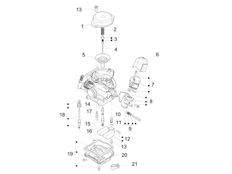 Carburetors components