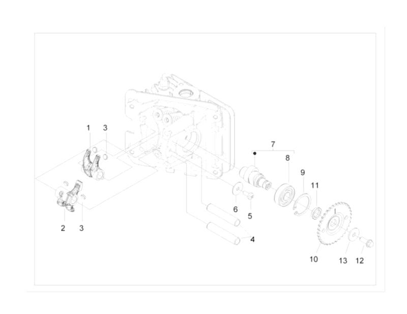 6.CAMSHAFT ROCKER ARM