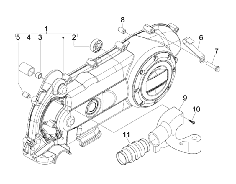 10.COVER CRANKCASE COOLING