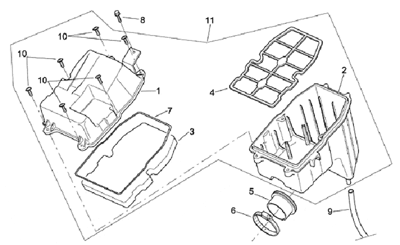 19.AIR CLEANER ASSEMBLY