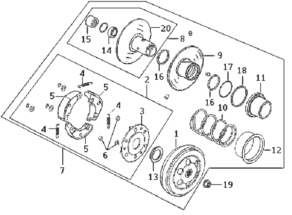 8.DRIVE PULLEY