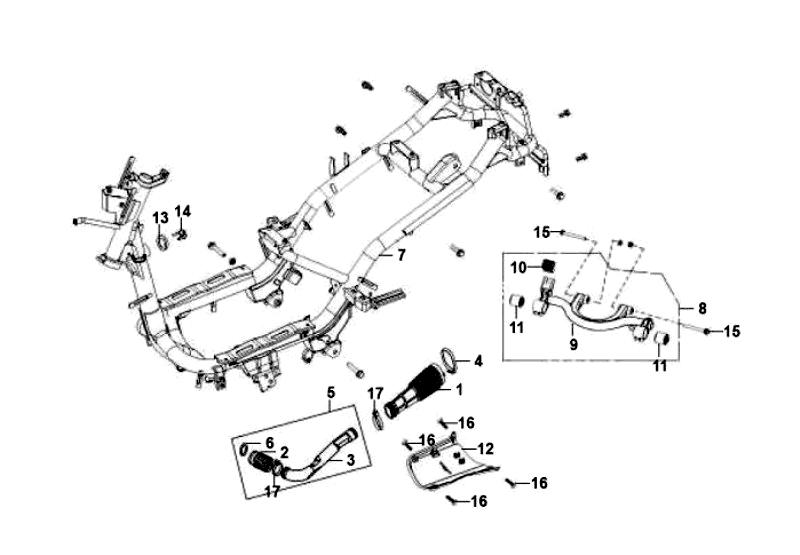 37.FRAME BODY ENGINE HANGER