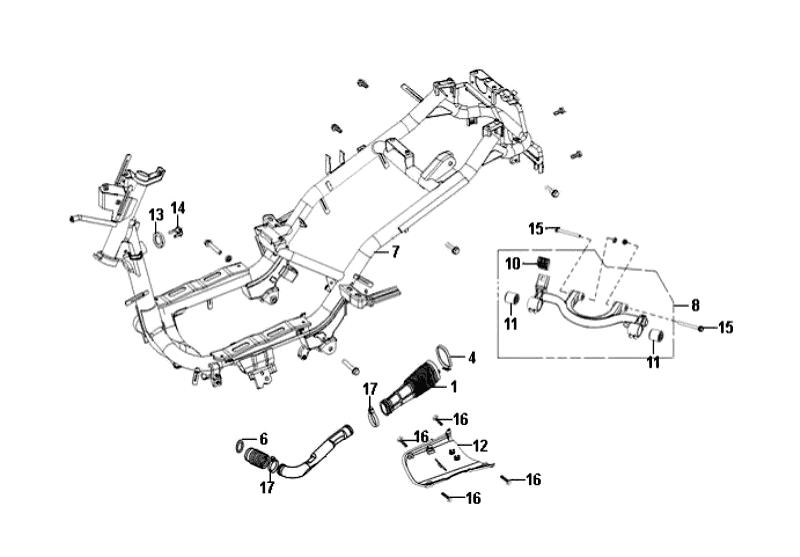 35.FRAME BODY ENGINE HANGER