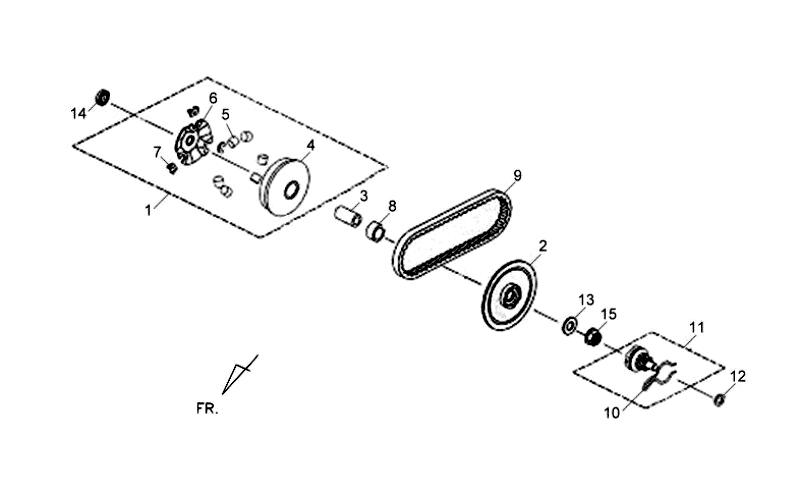 5.MOVABLE DRIVE FACE ASSY
