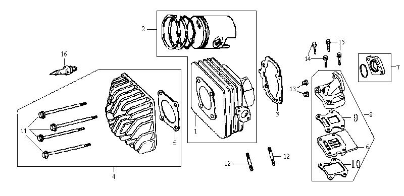 2. Cilinder & Cilinderkop