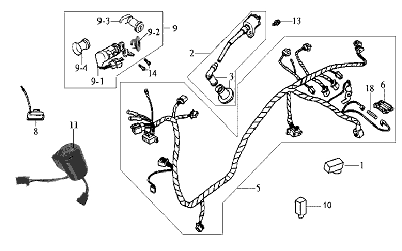 31.WIRE HARNESS - IGNITION COIL
