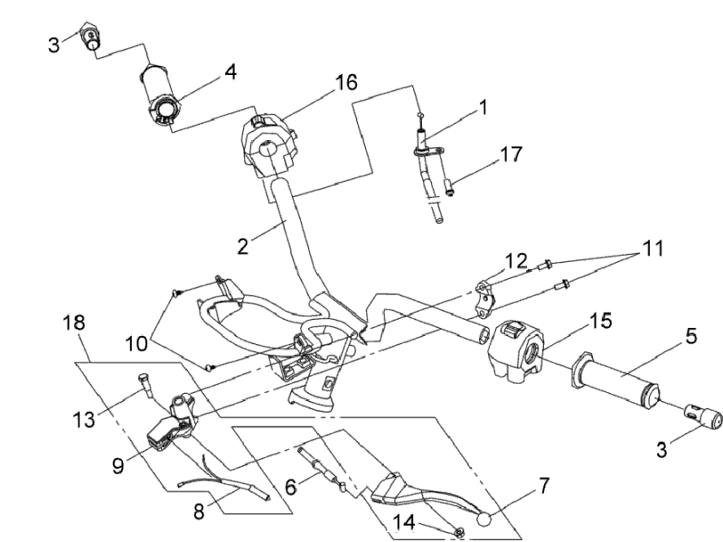 14.LH. HANDLE LEVER ASSY