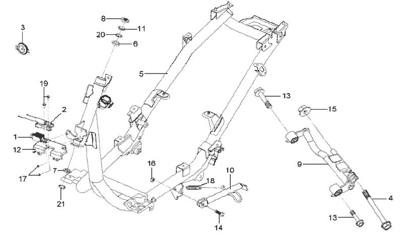 29.FRAME BODY - ENGINE HANGER