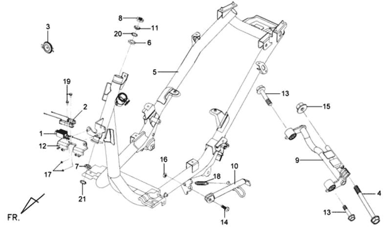 29.FRAME BODY-ENGINE HANGER