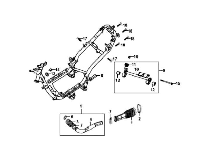 37.FRAME BODY - ENGINE HANGER