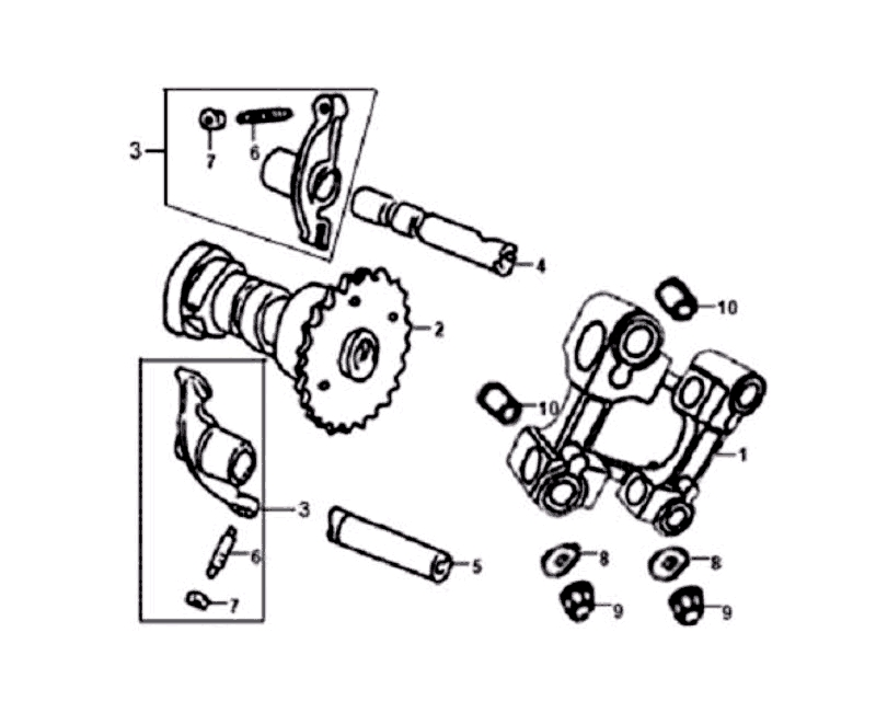4.CAM SHAFT - VALVE