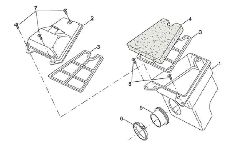 21.AIR CLEANER ASSEMBLY