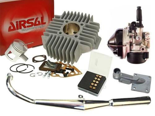 Opvoer Kit 65cc Airsal/Bos/Dellorto Tomos A35