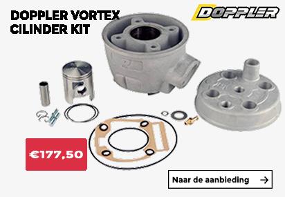 Aanbieding doppler vortex cilinder kits