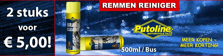Putoline Remmenreiniger 2 voor € 5,00!