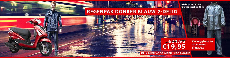 Regenpak Donker Blauw 2-Delig