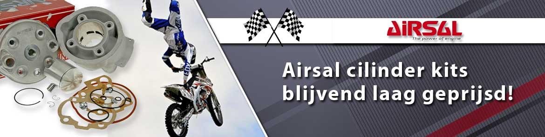 Airsal cilinder kits blijvend in prijs verlaagd!