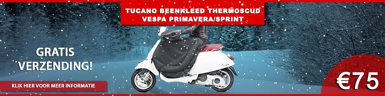 Tucano Beenkleed Thermoscud Vespa Primavera/Sprint