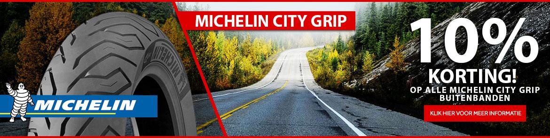 10% korting op alle michelin city grip buitenbanden
