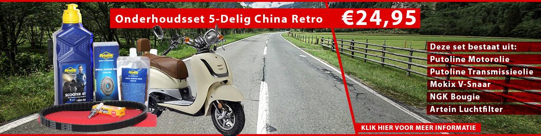 Onderhoudsset 5-Delig China Retro