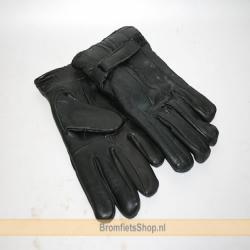 Handschoenen Leer Zwart XL