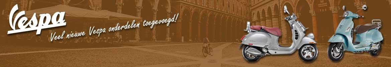 Nu! Veel nieuwe Vespa onderdelen op BromfietsShop.nl!